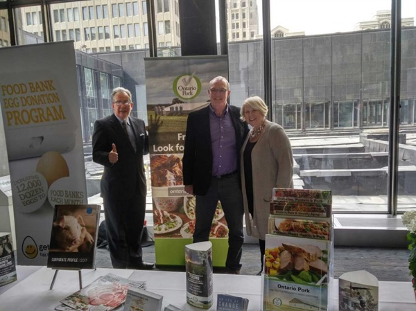 Ontario Pork Supports the Premier's Spring Food Drive