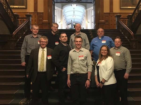 OP Leadership Training Group visits Queen's Park