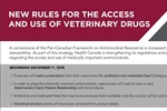 New rules for the access and use of veterinary drugs