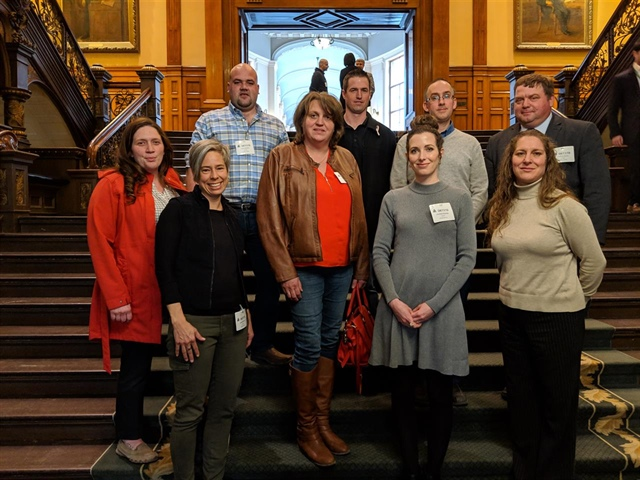 OP Leadership group visits Queen's Park