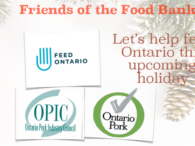 Donate today to support Friends of the Food Bank