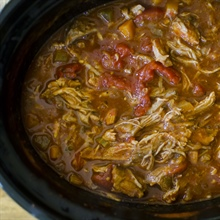 Slow cooker Sunday sauce... and enjoying your leisure time