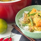 Coconut-lemongrass pork curry... it checks all your New Year's resolution boxes