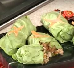 Fresh Pork Lettuce Wraps
