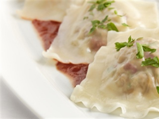 Easy Pork and Pepper Ravioli