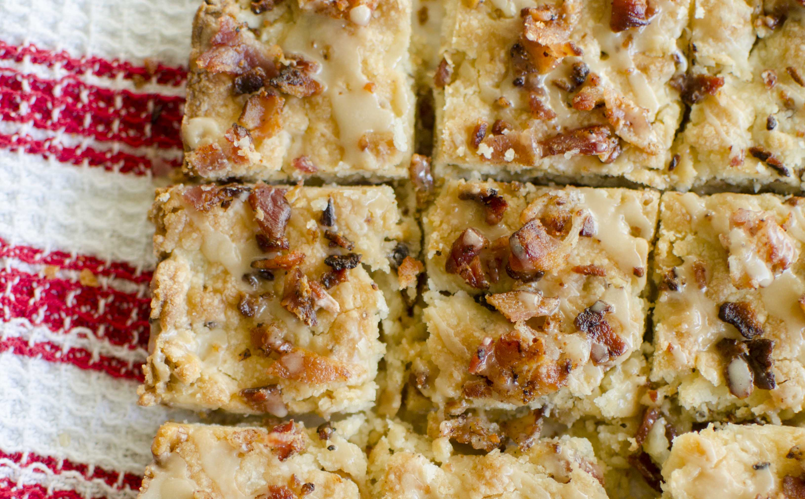 Maple Bacon And Pecan Shortbread Bars And Elevating Your Holiday