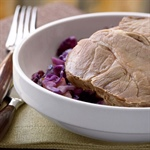 Blade Roast with Braised Red Cabbage