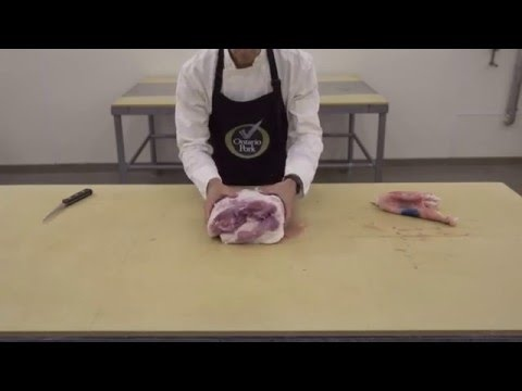 Pork Shoulder - Ontario Pork Butchery Demo