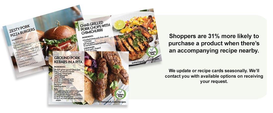 Free POS Material - Ontario Pork Brand Resources