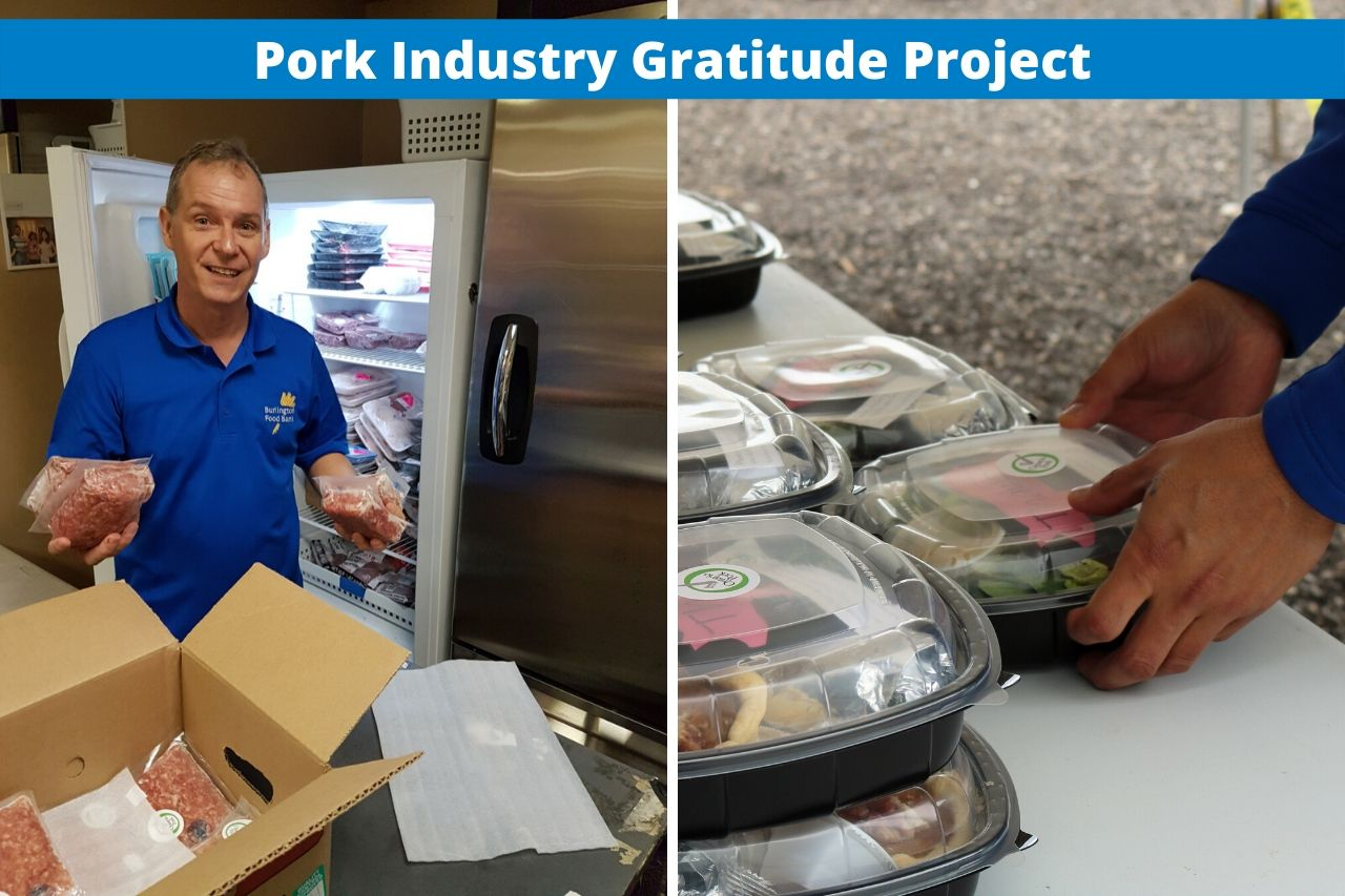 Pork donation provides protein for more than 200,000 meals