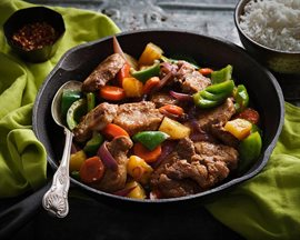 Pork and Pineapple Skillet Stew