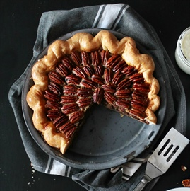 Bacon bourbon pecan pie... and embarrassing inspiration