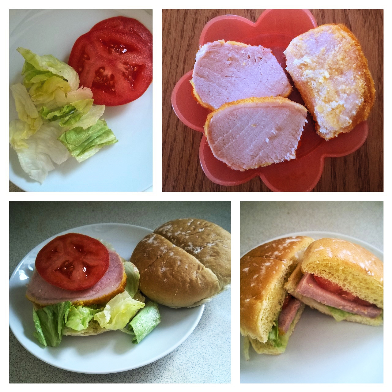 Peameal Bacon BLT Sandwich