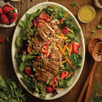 Pork Salad-Bar Feast