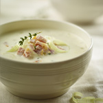 Slow Cooker Peameal and Potato Chowder